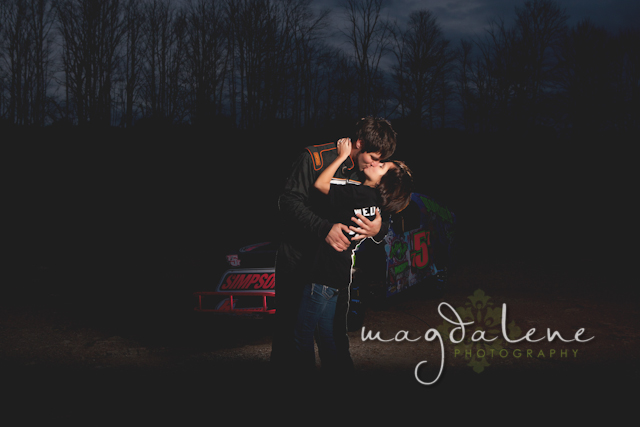 racecar-engagement-pictures