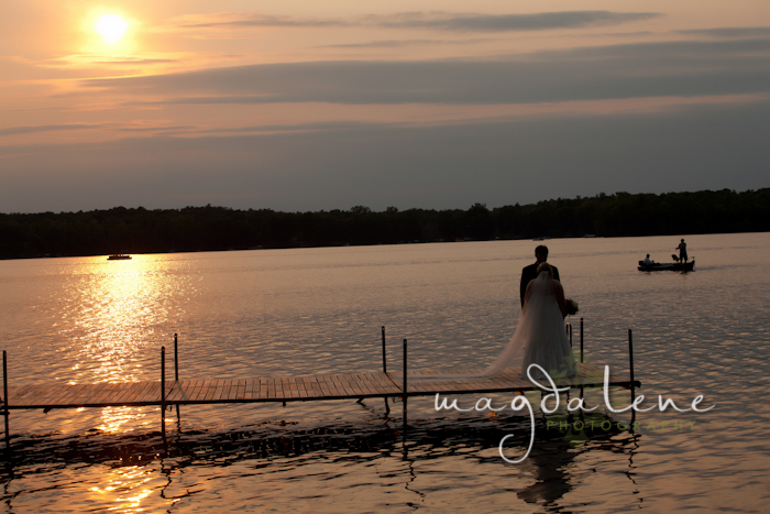 real-wisconsin-lake-wedding