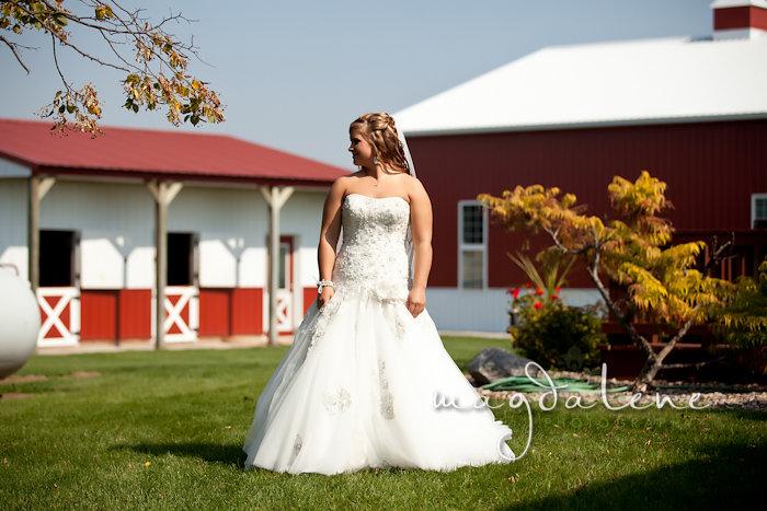 Wisconsin Wedding Photographer bride portrait