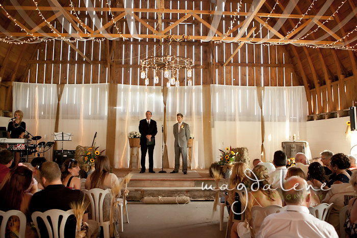 Wisconsin Wedding Photographer groom ceremony