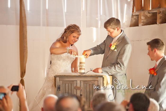 Wisconsin Wedding Photographer sand unity ceremony