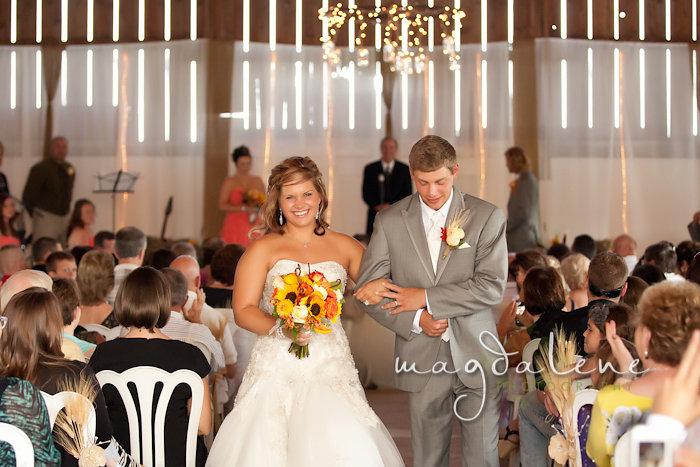 Wisconsin Wedding Photographer just married bride groom